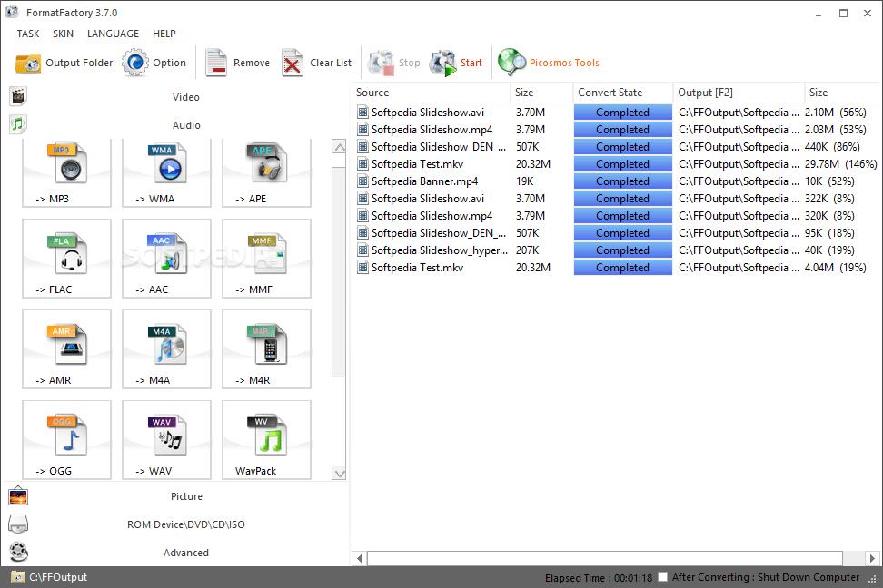 Format Factory Converter free